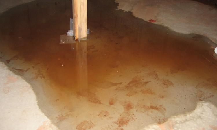 water seepage