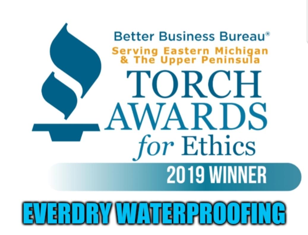 2019 Torch Award Winner | Everdry Waterproofing of Grand Rapids